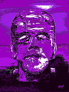Celebrities Art - The Purple Monster by Alys Caviness-Gober