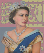Roy Mcpeak Posters - The Queen Poster by Roy McPeak