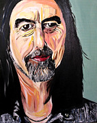 George Harrison Paintings - The Quiet Beatle by James Santarella