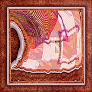 Quilt Blocks Framed Prints - The Quilt Framed Print by Liane Wright