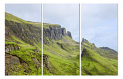 The Hills Posters - The Quiraing Triptych Poster by Chris Thaxter
