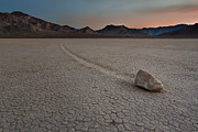 Canon 7d Originals - The Racetrack at Death Valley National Park by Eduard Moldoveanu