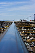 Yermo Photos - The Railway by Scott Laffin