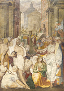 Raising Art - The raising of Lazarus by Perino del Vaga by Stefano Baldini