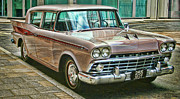 American Motors Corporation Prints - The Rambler Print by Heather Applegate