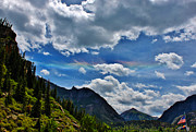 A Summer Evening Landscape Photo Prints - The Rare Phenomena Rainbows Print by Janice Rae Pariza