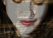 Photo Manipulation Digital Art Posters - The Reader Poster by Steven  Digman