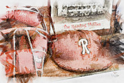 Minor League Prints - The Reading Phillies Print by Trish Tritz