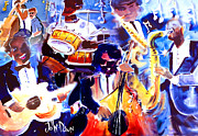 B.b.king Paintings - The Real Blues by John  Dunn