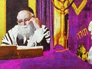 Synagogue Digital Art - The Rebbe by Digital Photographic Arts