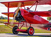 Aircraft Print Framed Prints - The Red Baron 2 Framed Print by Steve Harrington