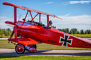Aircraft Print Framed Prints - The Red Baron Framed Print by Steve Harrington
