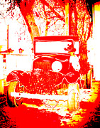 Nick Ruxandu - The red car
