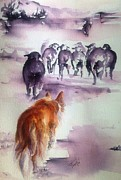 Ewes Originals - The Red Dog by Leslie Franklin