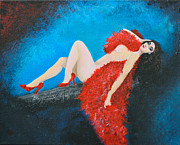 Alys Caviness-Gober - The Red Feather Boa