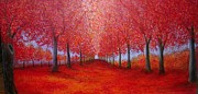 Marie-Line Vasseur - The red maples alley