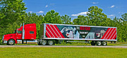 Taylor Swift Art - The Red Tour truck by Andy Lawless