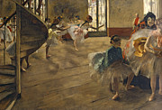 The Rehearsal, C.1877 Print by Edgar Degas