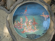 Canvas Ceramics - The Religious by Rcom ThaiArt
