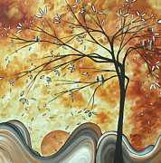 Amber Paintings - The Resting Place by MADART by Megan Duncanson