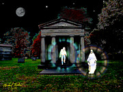 Full Moon Digital Art Originals - The Resurrection by Michael Rucker