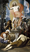 Famous Artists - The Resurrection of Christ by Juan Bautista Maino