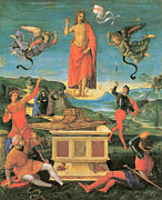 The Resurrection Of Christ Paintings - The Resurrrection of Christ by Raphael