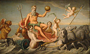 Neptune Framed Prints - The Return Of Neptune Framed Print by John Copley