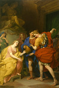 Famous Artists - The Return of Orestes by Anton von Maron