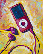 Music Ipod Painting Posters - The Revolutionary Poster by Eve  Wheeler