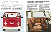 Revolutionary Framed Prints - The revolutionary Volkswagen Framed Print by Nomad Art And  Design