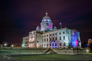 Kp Framed Prints - The Rhode Island State Capitol Framed Print by Katherine Pflieger