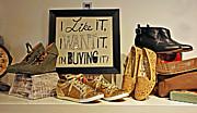 Purses Prints - The Right Attitude Is Everything Print by Kenny Francis