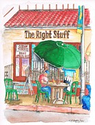 The Right Stuff Prints - The Right Stuff in Palm Springs - California Print by Carlos G Groppa