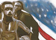 Civil Rights Paintings - The Right to Freedom by Richard Booker