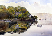 Margaret Merry - The river at Malpas
