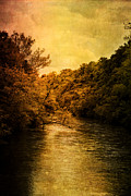 Riverscape - Early Autumn Prints - The River Print by Stephanie Frey