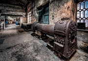Rivet Metal Prints - The Riveted Boiler Metal Print by Adrian Evans