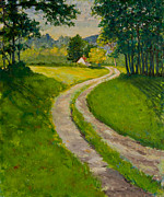 Betty Mcglamery Art - The Road Home by Betty McGlamery
