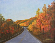 The Road Home Print by Sherri Anderson