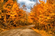 Dirt Roads Photo Originals - The Road Less Traveled by Jon Burch Photography