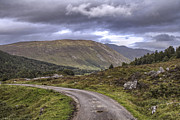 Jason Politte Prints - The Road through Glen Lyon - Scotland Print by Jason Politte