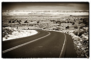 Pueblo People Prints - The Road to Wupatki Print by John Rizzuto