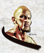 Anibal Diaz - The Rock Caricature by...