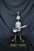 Spoon Sculpture Originals - The rock n roller. by Gary  GBLET Bartlett