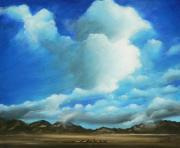 Horizon Painting Originals - The Rockies by Susi Galloway