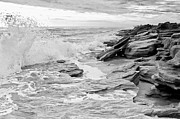 Flagler Prints - The Rocky Coast Print by Rich Leighton