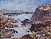 Galina Khlupina - The Rocky Shore