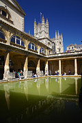 Roman Baths Framed Prints - The Roman Baths Framed Print by Premierlight Images