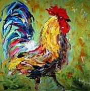 The Rooster Print by Karen Tarlton